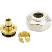 Компрессионный фитинг Danfoss внутренняя резьба G 3/4 для полимерных труб (PEX) 14 x 2 мм, арт. 013G4154