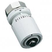 Термостатическая головка Oventrop Uni DH, артикул 1011065, белая, 7-28 С, с нулевой отметкой