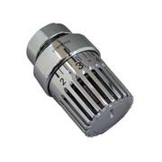 Термостатическая головка Oventrop Uni LH, артикул 1011461, серая, 7-28 С, c нулевой отметкой