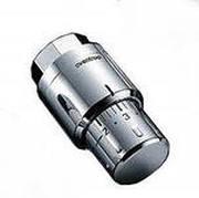 Термостатическая головка Oventrop Uni SH, артикул 1012069, хромированная, 7-28 С, с нулевой отметкой