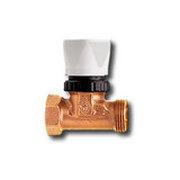"""Heimeier Регулировочный вентиль для гребенок, DN 15(1/2""""), с наружн резьбой G 3/4"""", бронза, без маховика (с колпачком), 1322-02.000"""