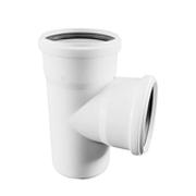 Тройник REHAU RAUPIANO PLUS 50/50/87°, для канализационных труб, арт. 11212541001