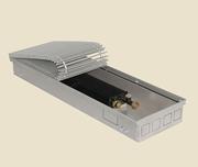 Внутрипольный конвектор PrimoClima PCS90-2500, решетка из алюминия анодированного в натуральный цвет