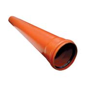 Труба канализационная Ostendorf KGEM однораструбная D-125х500, арт. 221000