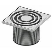 Декоративная решетка TECEdrainpoint S 150 мм в стальной рамке с монтажным элементом, 366 00 04