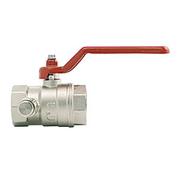 Itap 115 1 1/2 Кран шаровой муфтовый полнопроходной со спускным устройством (рычаг), 28576