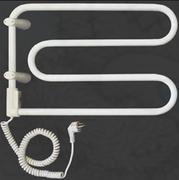Электрический полотенцесушитель Vandens Angis 2B белый (черная сталь)