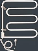 Электрический полотенцесушитель Vandens Angis 3B белый (черная сталь)
