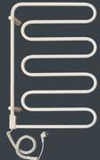Электрический полотенцесушитель Vandens Angis 4B белый (черная сталь)
