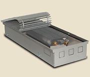 Внутрипольный конвектор PrimoClima PCN125-2500, решетка анодированный натуральный алюминий