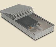 Внутрипольный конвектор PrimoClima PCM90-1250, решетка анодированный натуральный алюминий