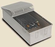 Внутрипольный конвектор PrimoClima PCM200-1250, решетка анодированный натуральный алюминий