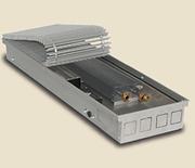 Внутрипольный конвектор PrimoClima PCVS90-1250, решетка анодированный натуральный алюминий