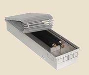 Внутрипольный конвектор PrimoClima PCS125-2500, решетка анодированный натуральный алюминий