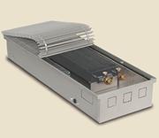 Внутрипольный конвектор PrimoClima PCVN125-2500, решетка анодированный натуральный алюминий