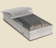 Внутрипольный конвектор PrimoClima PCVM125-2750, решетка анодированный натуральный алюминий