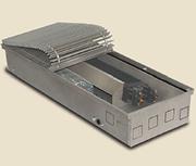 Внутрипольный конвектор PrimoClima PCVNE125-2500, решетка анодированный натуральный алюминий