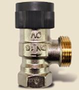 """Термостатический вентиль на подающую линию DN15, G3/4"""" угловой, арт. 778002"""