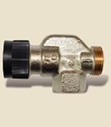 """Термостатический вентиль на подающую линию DN15, G3/4"""" осевой, арт. 778003"""