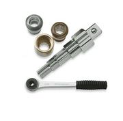 Универсальный ступенчатый ключ ROTHENBERGER (7.3298) с трещоткой, комплект арт. 73297