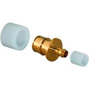 Uponor PE-Xa Q&E переходник 20x9,9 с кольцом PE-X 9,9 и кольцом PE-X 20, артикул 1020518