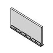 Uponor профиль расширительный 2000x100x10 мм, артикул 1000081