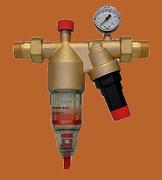 Фильтр с редукционным клапаном и манометром BWT AVANTI HWS 1, арт. 10172