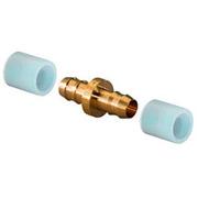 Uponor Minitec PE-Xa соединитель 9,9-9,9 с двумя кольцами РЕ-Х, артикул 1005264