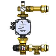 STOUT Насосно-смесительный узел с термостатическим клапаном 20-43°C, без насоса, SDG-0020-004000