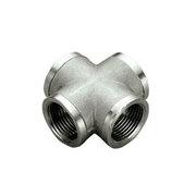 TIEMME Крестовина ВВ 1 1/4 никелированная для стальных труб резьбовая 1500475