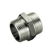 Ниппель TIEMME HH никелированный 1 1/4х1 1/4 для стальных труб резьбовой 1500207