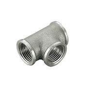 Тройник TIEMME ВВ 1 1/4 никелированный для стальных труб резьбовой 1500331