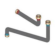 Соединительные трубопроводы De Dietrich ЕА101 «котел — гидравлический модуль» для подключения справа или слева, 89997061