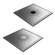 Uponor Drain решетка трапа квадратная ELEGANT 155х155мм, нерж. сталь, со стальной рамой, 1093066