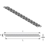 Uponor Tecto двусторонняя полоса фольги 1,4м, 100мм, артикул 1005484