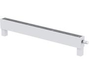 Напольный конвектор Varmann MiniKon Комфорт KFV 85.130.1000, напольный монтаж на готовый пол со встроенным термоклапаном