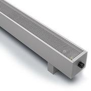 Напольный конвектор Varmann MiniKon Стандарт SFV 135.130.1000, напольный монтаж на готовый пол со встроенным термоклапаном