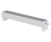 Напольный конвектор Varmann MiniKon Стандарт 185.130.1000, напольный монтаж на готовый пол со встроенным термоклапаном